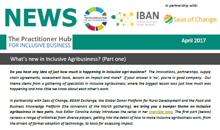 What's new in Inclusive Agribusiness?