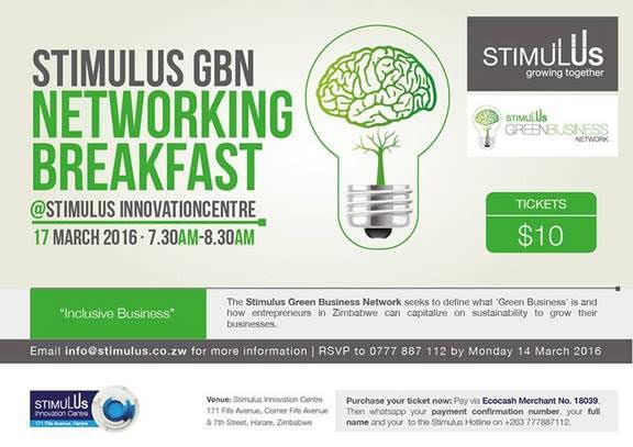 IB Zim features at Stimulus Networking Breakfast