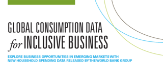 IB in emerging markets - Global Consumption Database launched by the World Bank Group