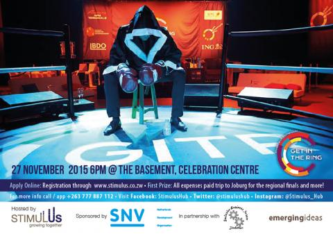 "Stimulus & the IB Forum invite Zimbabwe Start-ups to ""Get in the Ring"""