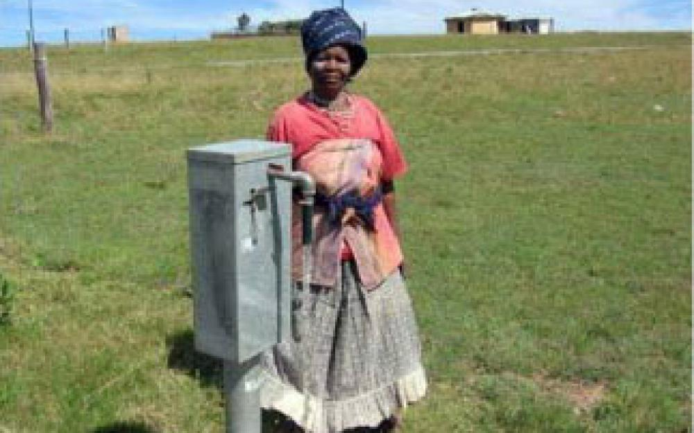Amanz' abantu: Water (and Sanitation) for the People in South Africa