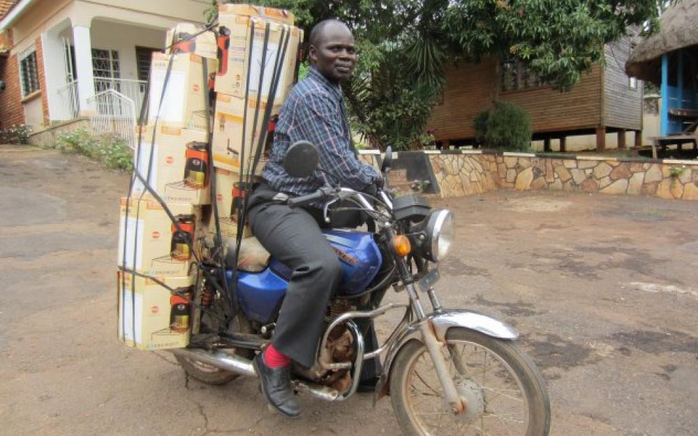 Kiva's MFIs provide micro finance to UpEnergy Retailers in Uganda,  Rwanda and Central America