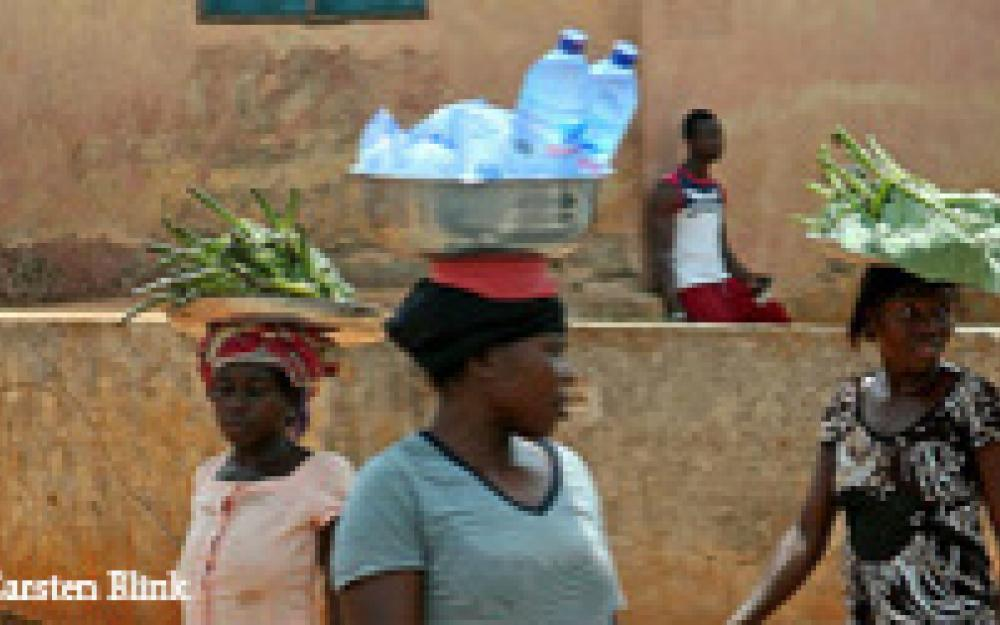 Calimera Safe Bottled Water project in Tanzania